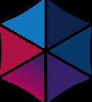 Multi-colored icon representing diversity.
