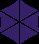 Multi-colored icon representing teamwork.